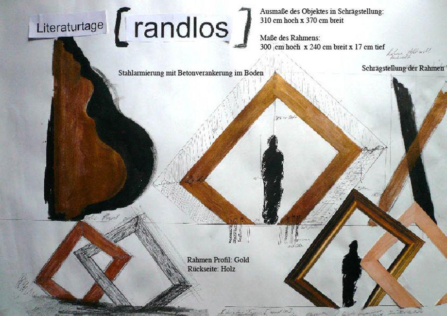 Der Goldene Rahmen, 2010 - Julia Bornefeld